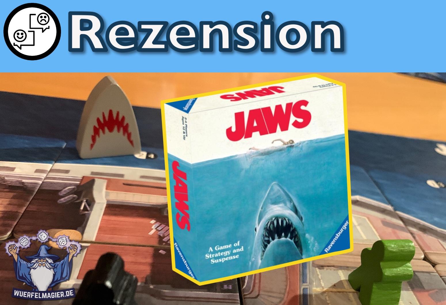Rezension Coverbild Jaws Ravensburger
